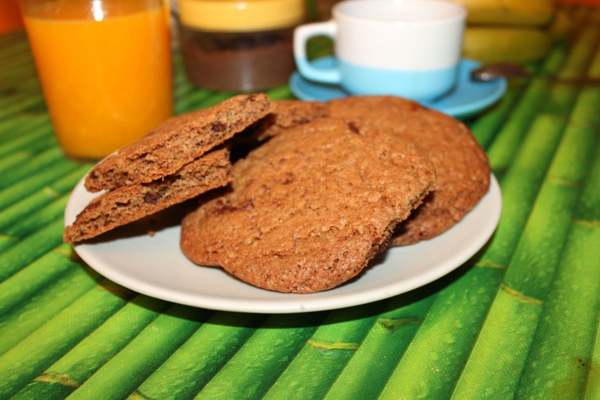 Galletas de espelta con chocolate