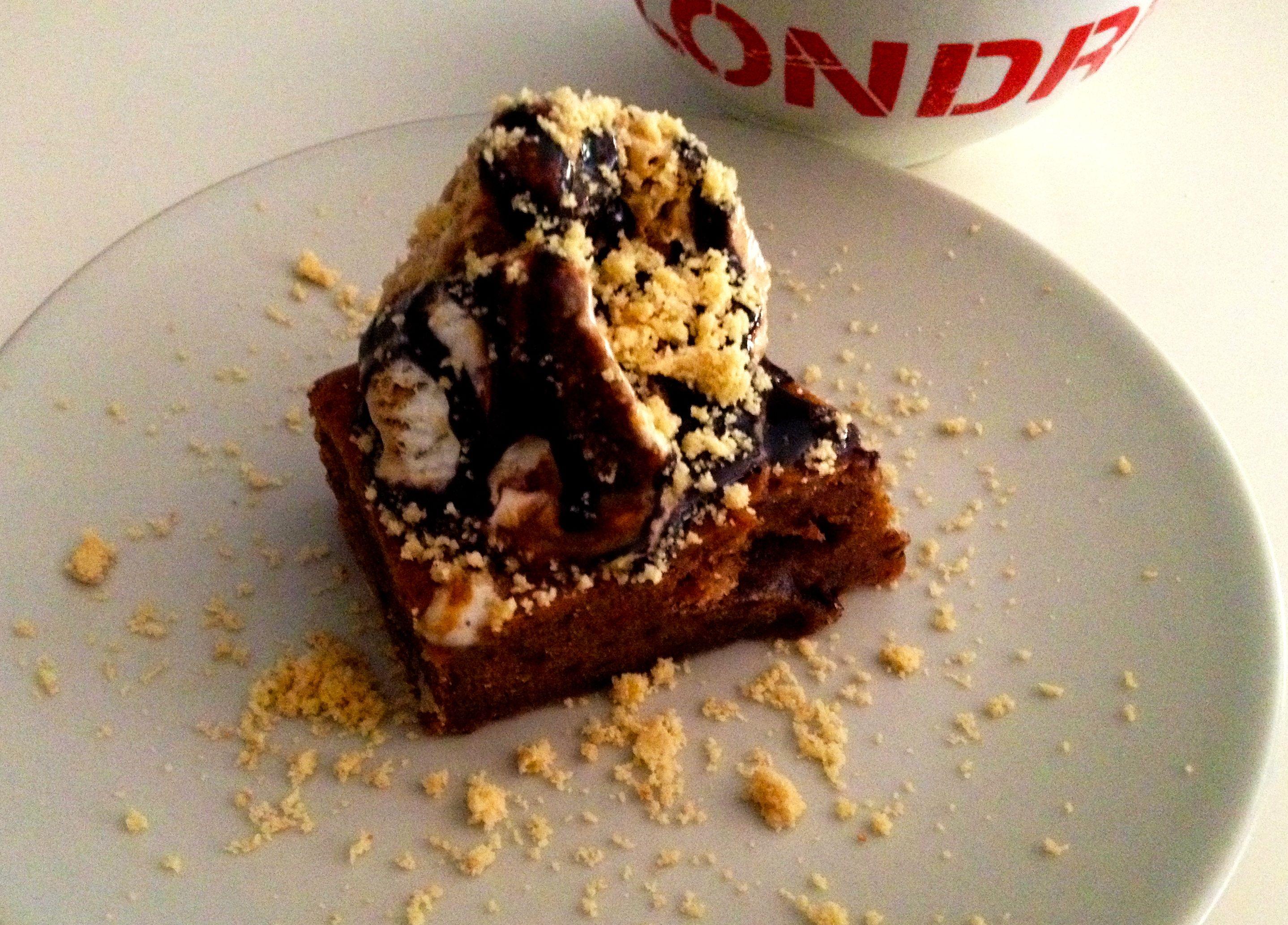 Brownie Chocolate Platano