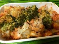coliflor y brocoli con pimenton de la vera