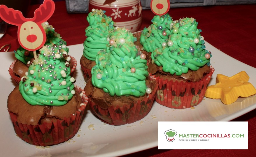 Cupcakes arbol navidad logo