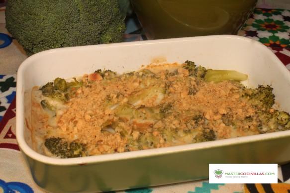 gratinado vegano de brócoli logo