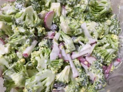 ensalada de brócoli / brécol