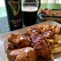 Pollo a la cerveza Guinness