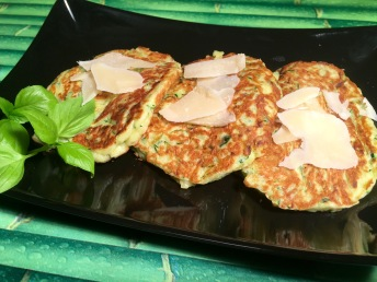 tortitas calabacín parmesano