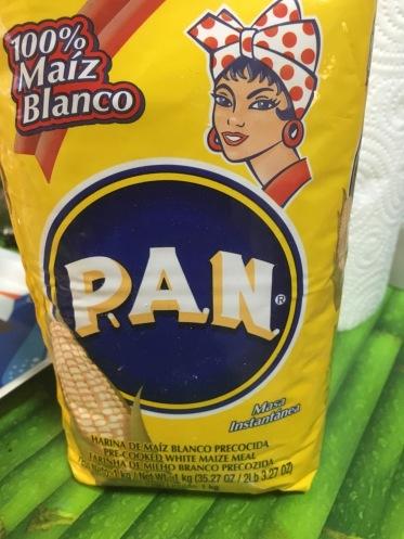 harina maiz PAN