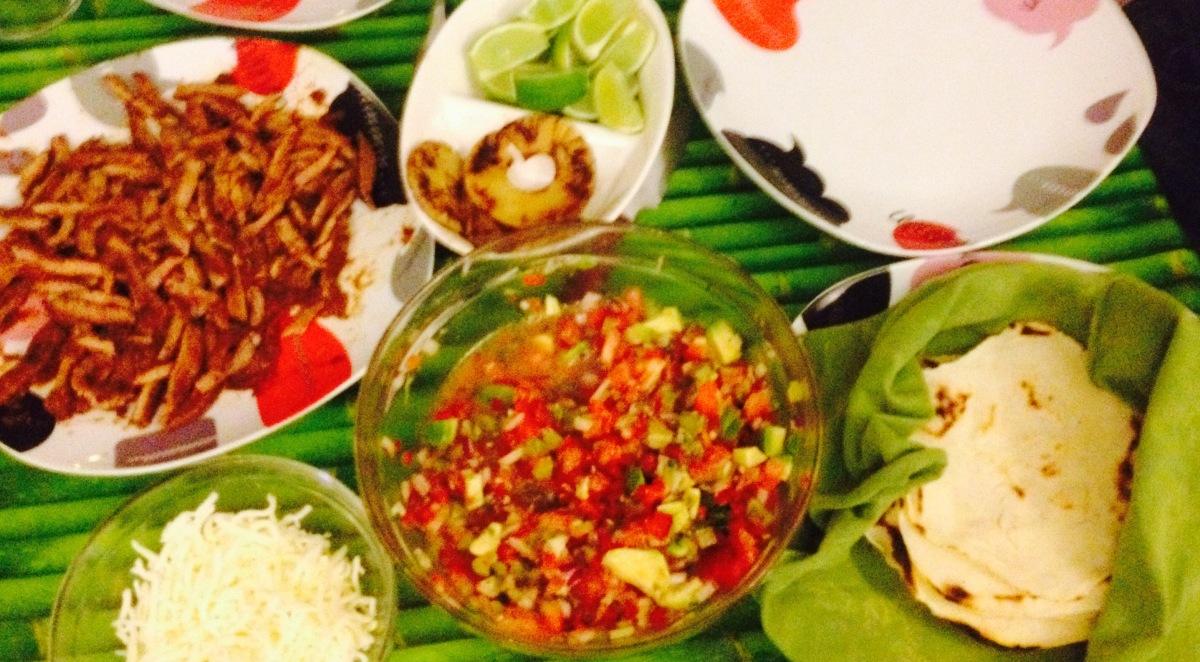 Tacos al pastor (receta mexicana)