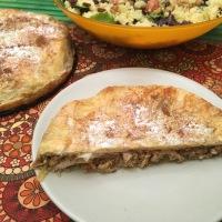 Pastela de pollo y almendras (receta marroquí)