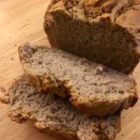 Pan de trigo sarraceno (sin gluten, sin azúcar, integral 100%)