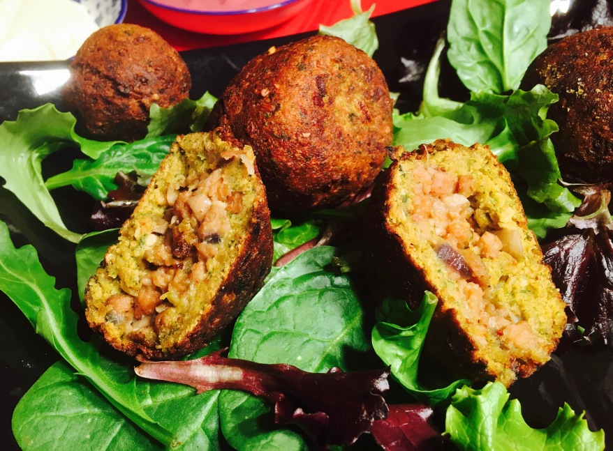 Bombas Veganas De Falafel Y Soja Texturizada Blogs De