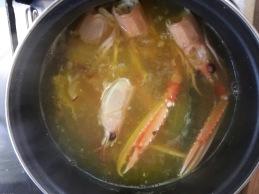 arroz caldoso avecrem duo paella pescado