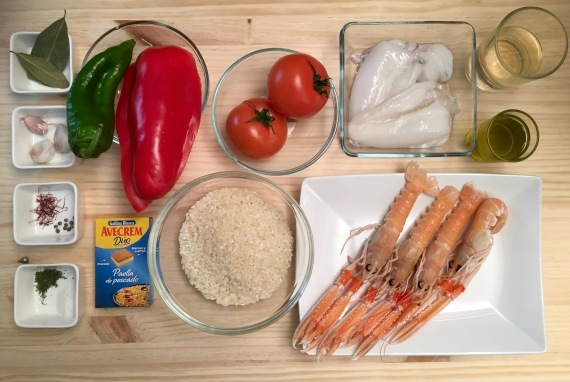 arroz caldoso ingredientes