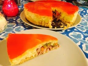ensaladilla rusa corte - trampantojo cheesecake