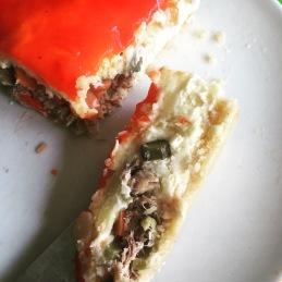 ensaladilla rusa gelatina de pimiento morron