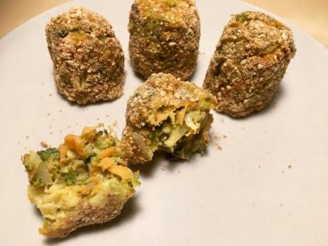croquetas al horno de brócoli
