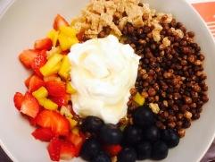 Porridge de cereales integrales