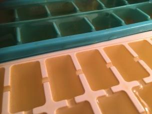 gelatina transparente de gazpacho