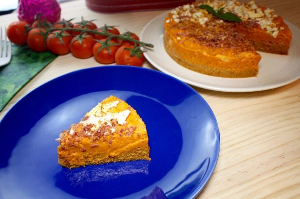 pastel de gazpacho