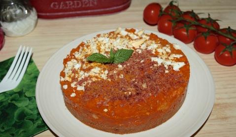 tarta de gazpacho
