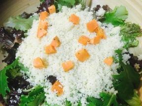 ensalada cuscus - boniatos camote papa dulce
