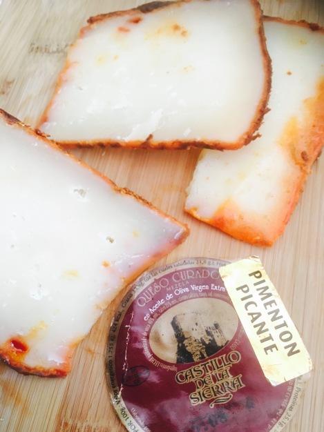 ensalada cuscus - queso mezcla payoya cabra oveja cadiz