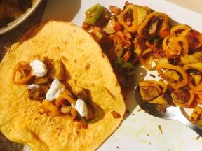 tacos de jack fruit