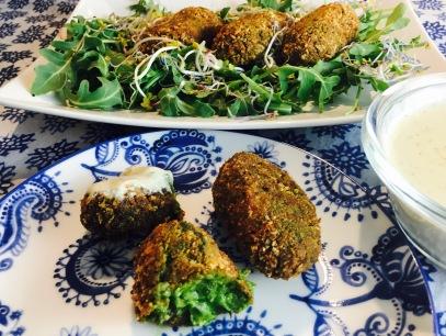 croquetas verduras champiñon cebolla y nueces