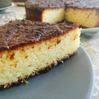 Bizcocho de coco y naranja (y sus versiones: vegano, sin gluten, sin lactosa)