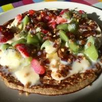 Pancake de plátano y avena - Blogueros cocineros 2.0